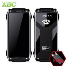 VKWorld Corona V8 GSM 2G Móvil 4.9mm Teléfono Ultra-delgado de 1.64 pulgadas Niño Inteligente Podómetro Bluetooth FM Dual SIM