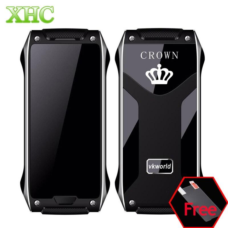Цена за Vkworld корона v8 gsm 2 г смартфон 4.9 мм ultra slim мини 1.64 дюймов умный ребенок телефон шагомер bluetooth fm dual sim