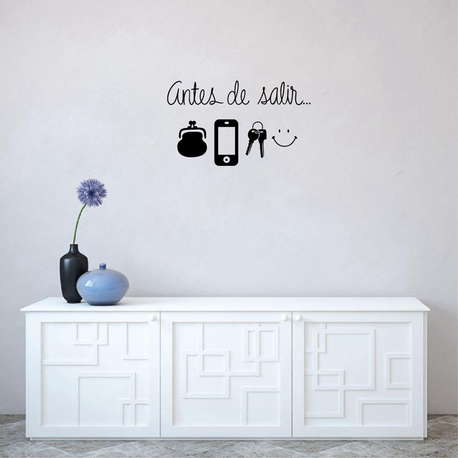 Ισπανικά τέχνης αυτοκόλλητων ετικεττών τοίχων καθημερινά πριν από την απομάκρυνση υπενθυμίσεων Vinyl Wall Decals για σαλόνι