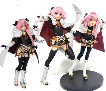 Japanese original anime figure Fate/Grand Order FGO  Astolfo action figure collectible model toys for boys 18cm japanese game rage of bahamut mystere action figure collectible model toys for boys