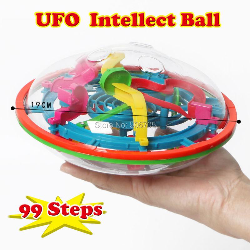 UFP 3D Puzzle Μαγεία λαβύρινθος Διανοητική μπάλα Παιχνίδι ατελή μαγνητικές μπάλες, Εκπαιδευτικό IQ ισορροπία κλασικό παιχνίδια Για ενήλικες παιδιά
