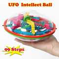 UFP 3D Puzzle Magic Maze intellect  Ball Game perplexus magnetic balls,Educational  IQ Balance classic toys For Children adults