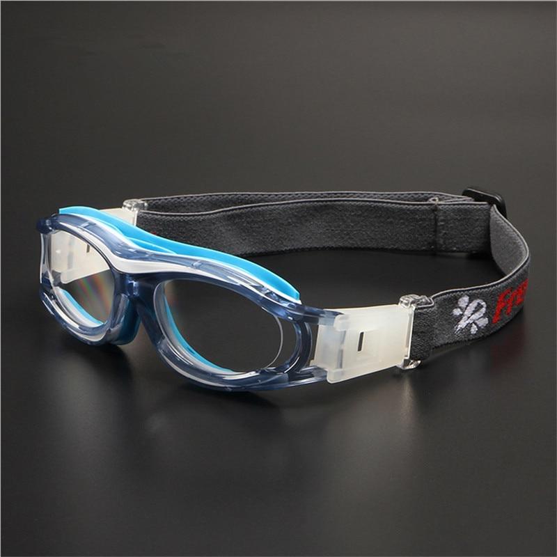Enfant lunettes de Sport lunettes de Basket Ball Prescription cadre en verre  de football De Protection des yeux personnalisés Extérieure optique cadre  ... c6d155ba172e