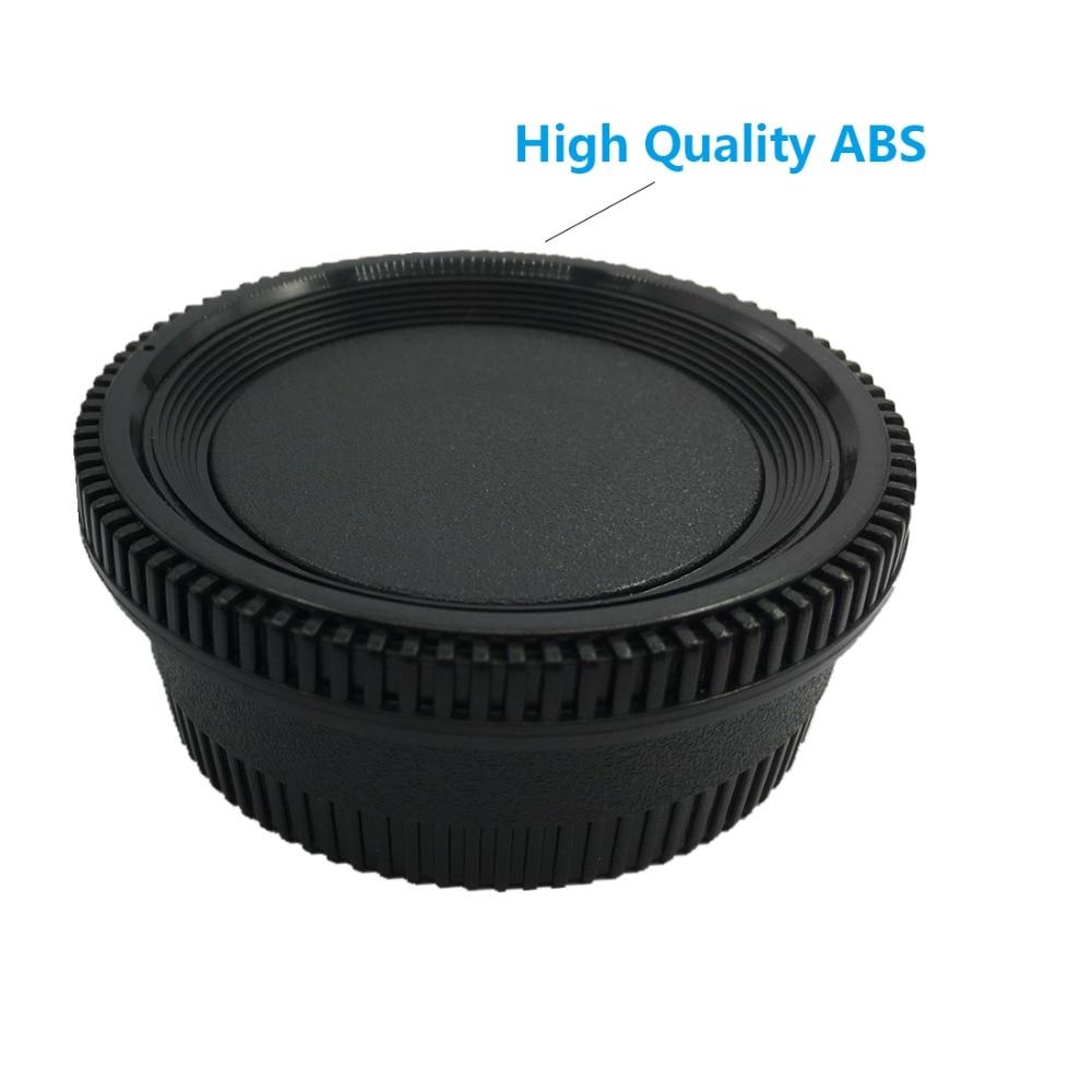 LXH 2 Packs Kamera Ön Gövde Kap ve Arka Lens Kapağı Kapak için - Kamera ve Fotoğraf - Fotoğraf 2