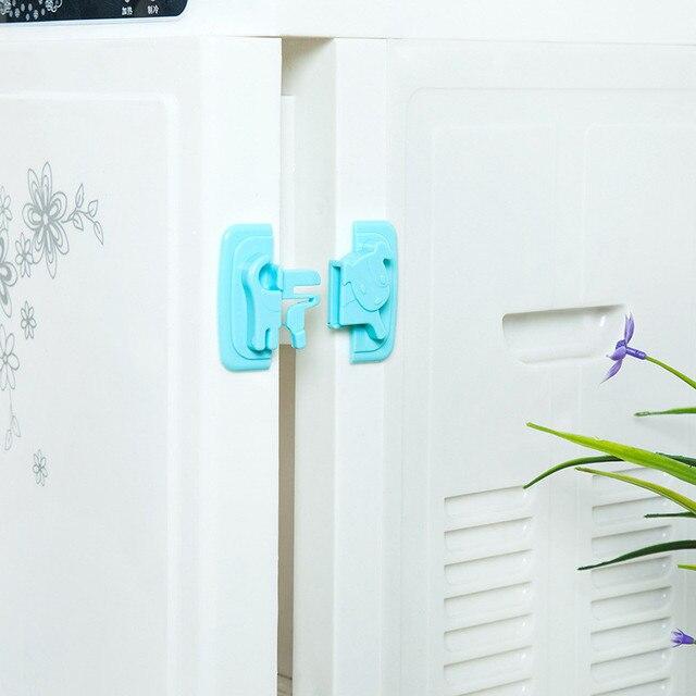 Safety Lock Lock Protects Children's Safety Drawer Door Cabinet Lock 1