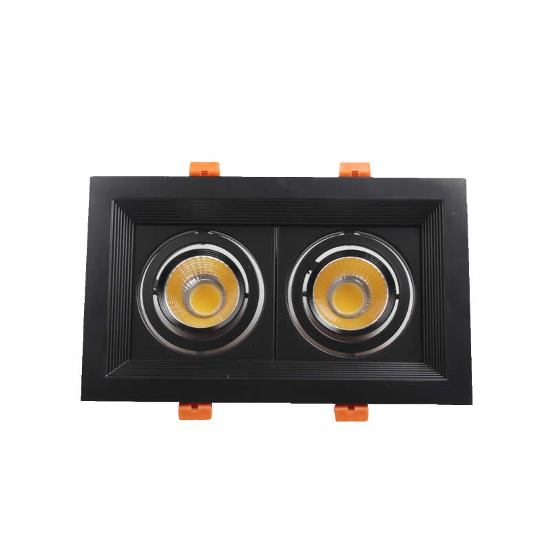Négyszögletes LED-es világítótestek 3 * 15W 2 * 7W 3 * 10W 110 - Beltéri világítás