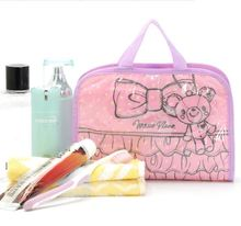 2015 Fashion Cosmetic Makeup Bag Fashion Baby Diaper Bags 34*21.5cm Organizer Brand Containers Travel Cartoon Bags T100723