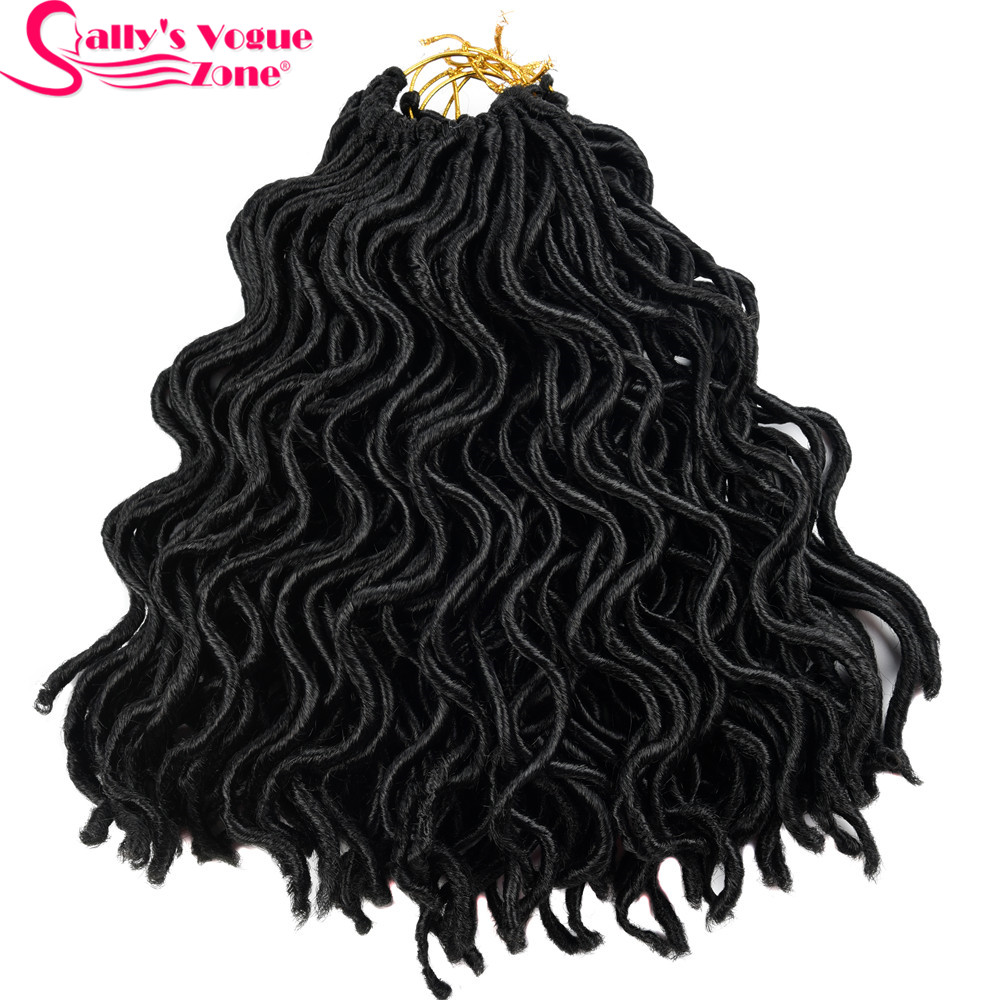 Hair Braids Black Crochet
