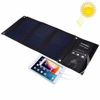 Haweel 7 واط 14 واط 21 واط المحمولة الشمسية شاحن لل تخييم السفر طوي الشمسية شاحن الهاتف المحمول مع المزدوج منافذ usb