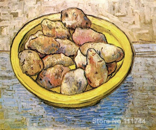 Célèbre art pour chambre Encore Vie Pommes de Terre dans un Jaune ...