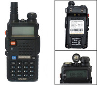 2016 New BLACK RED BLUE YELLOW CAMOUFLAGE BaoFeng UV 5R Walkie Talkie 136 174 400 520Mhz