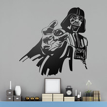 Darth Vader Wall Art Poster Star Wars Decal  Funny Decals Car Window Glass Murals Deco For Boy Bedroom A428