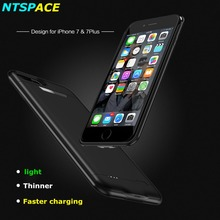 3000/4200mAh Portable Charging Case Backup Battery Cover For iPhone 8 7 6s Plus Power Bank External Battery Charger Case Cover