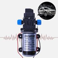Professional Water Pump 12V 100W High Pressure Micro Electric Diaphragm Pump Self priming Booster Pump 8L/min For Car Washing