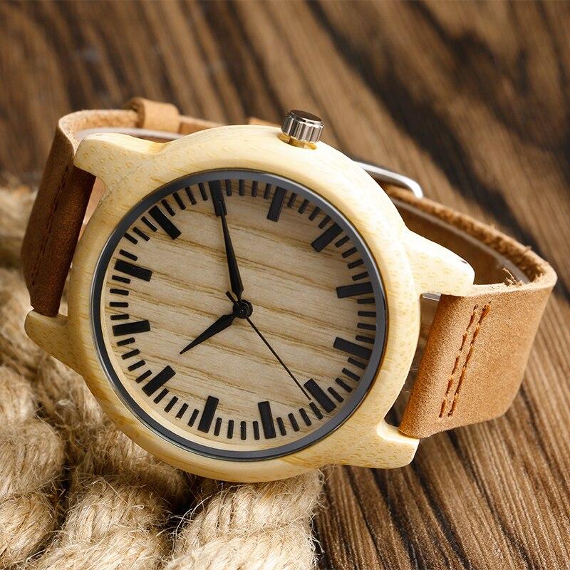 Fashion Light käsitsi valmistatud puidust kellad, mis on valmistatud - Meeste käekellad - Foto 3