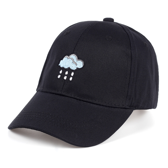 25cb4f74 TUNICA New 2017 brand hat rain cloud embroidery baseball cap fashion men  and women adult hat adjustable hip hop hat sports hat