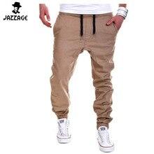 Mens Joggers 2018 Brand Male Trousers Men Pants Casual Solid Pants Sweatpants Jogger khaki Black Large Size 3XL