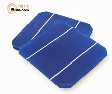 25pcs  Efficiency Photovoltaic Monocrystalline Silicon Solar Cell 6×6 Prices Cheap Grade A 4.8W /PCS For DIY Poly Solar Panel