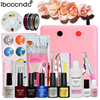 Nail Art Gel Nail Polish Kit With Uv Light 36w Led Lamp Nail Sticker Nail Art