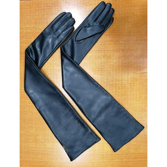 Long Sheepskin Gloves...