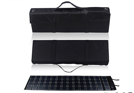 180W Foldabe fabric solar panel charger with SAE connector for Car battery boat yacht motorhome