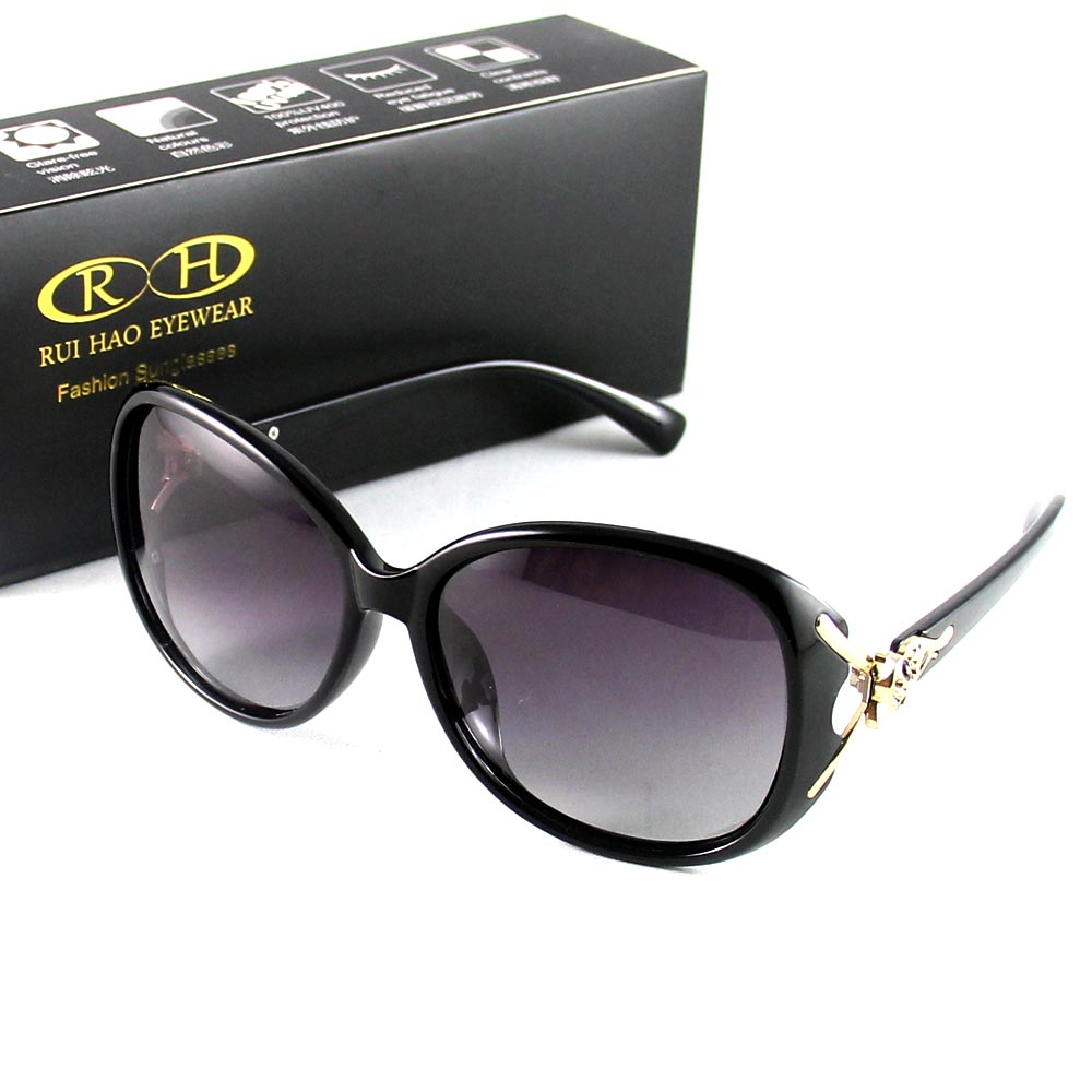 RUI HAO font b EYEWEAR b font Brand Women Sunglasses font b Polarized b font Sunglasses