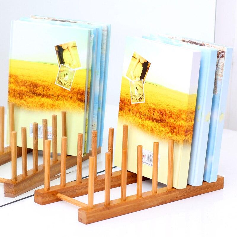 kopen vijf sturen een bamboe hout creatieve mode eenvoudige kleine boekenkast boekenkast bureau tops stands goedkope in kopen vijf sturen een bamboe hout