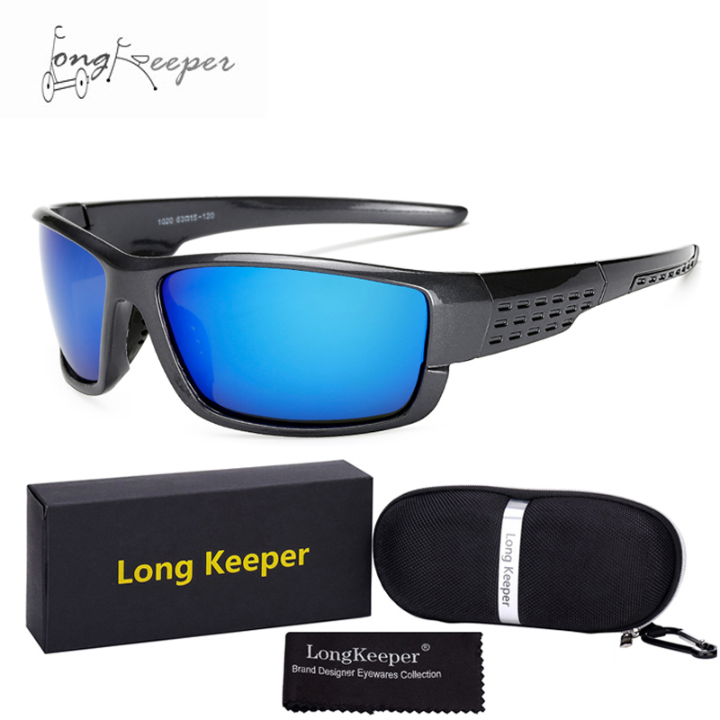 Long Keeper Polarized Sunglasses Gift Set MTB Motorcycle Bicycle Riding Cycling Glasses Exercise Sports Goggles