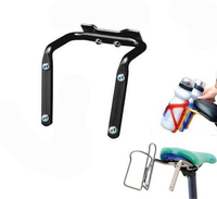 2 Color Choose Outdoor Sport MTB Bike Bicycle Cycling Double Dual Water Bottle Cages Tires Holder