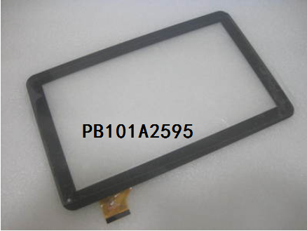 New original 10.1 inch tablet multipoint capacitive touch screen PB101A2595 free shipping