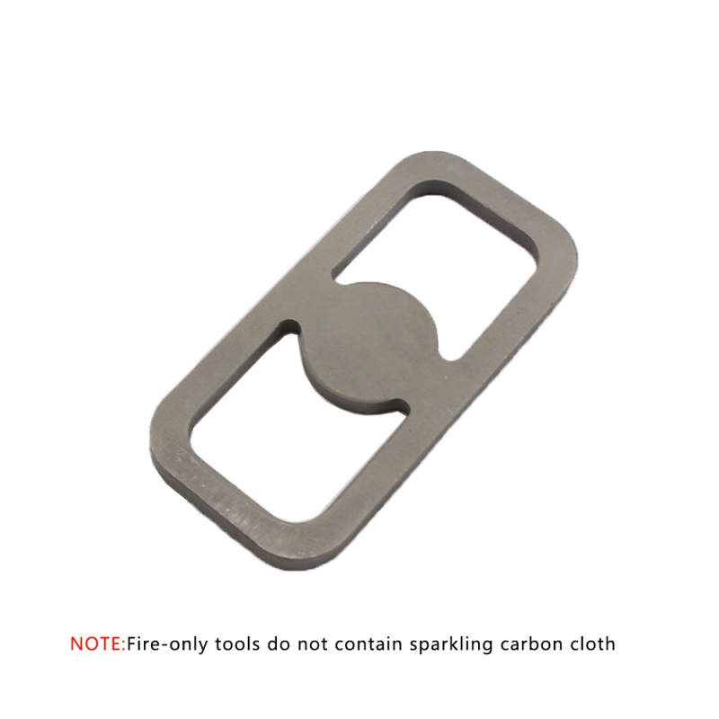 New Emergency Fire Starter Flint Match Metal Lighter Camping Hiking Instant Survival Durable Outdoor Tool Accessory fire steel survival striker army camping hunting flint with plastic holder