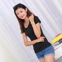 M22 2018 O neck korean style women shirts casual streetwear women t shirt womens clothing IG15