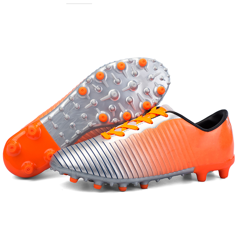 779b92bcf Speedfly Football Boots Men Superfly FG Soccer Shoes TF Turf Futsal  Children Kids Cleats Metallic Outdoor