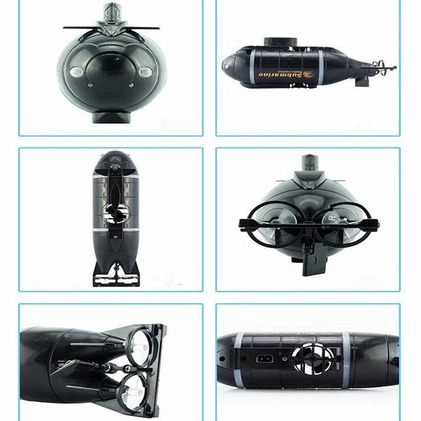 1 PC Mini RC Submarine Toy Kids