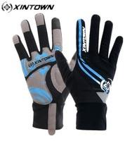 XINTOWN Winter Radfahren Handschuhe 2018 Volle Finger Nylon Rennrad Handschuhe frauen männer Mtb Sport Fahrrad Handschuhe Guantes Ciclismo