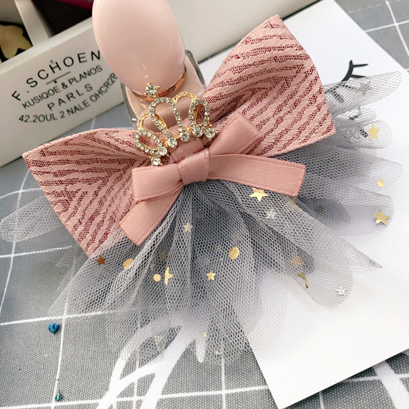 Girl's Hair Accessories Buy Cheap Korea Lace Flower Crown Side Bangs Clip Hair Accessories Rim Hair Clips For Girls Hairpin Hair Bows Hairgrips