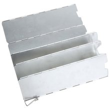 ELOS-8-Plate плита из алюминиевого сплава для кемпинга, складная ветрозащитная плита