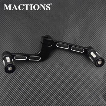 Motorcycle CNC Heel Toe Shift Lever Pedal Shifter Pegs FootPegs For Harley XL 1200T 2014-2017 XL 883R 2005-2006 XL 883 2004-2006