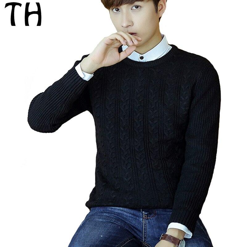 Spring Autumn Striped font b Sweater b font font b Men b font Casual Tops Long