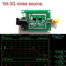 broadband 1M-3G noise source, spectrum analyzer tracking source Filter Antenna dc 12v for Ham Radio Amplifiers