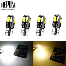 4X Canbus 194 W5W T10 LED Car Light  5730 Auto Bulbs Styling For chevrolet captiva cruze spark orlando Cruze Trailblazer