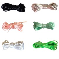 50 meters/lot 2mm satin cord silky cord for beaded necklace