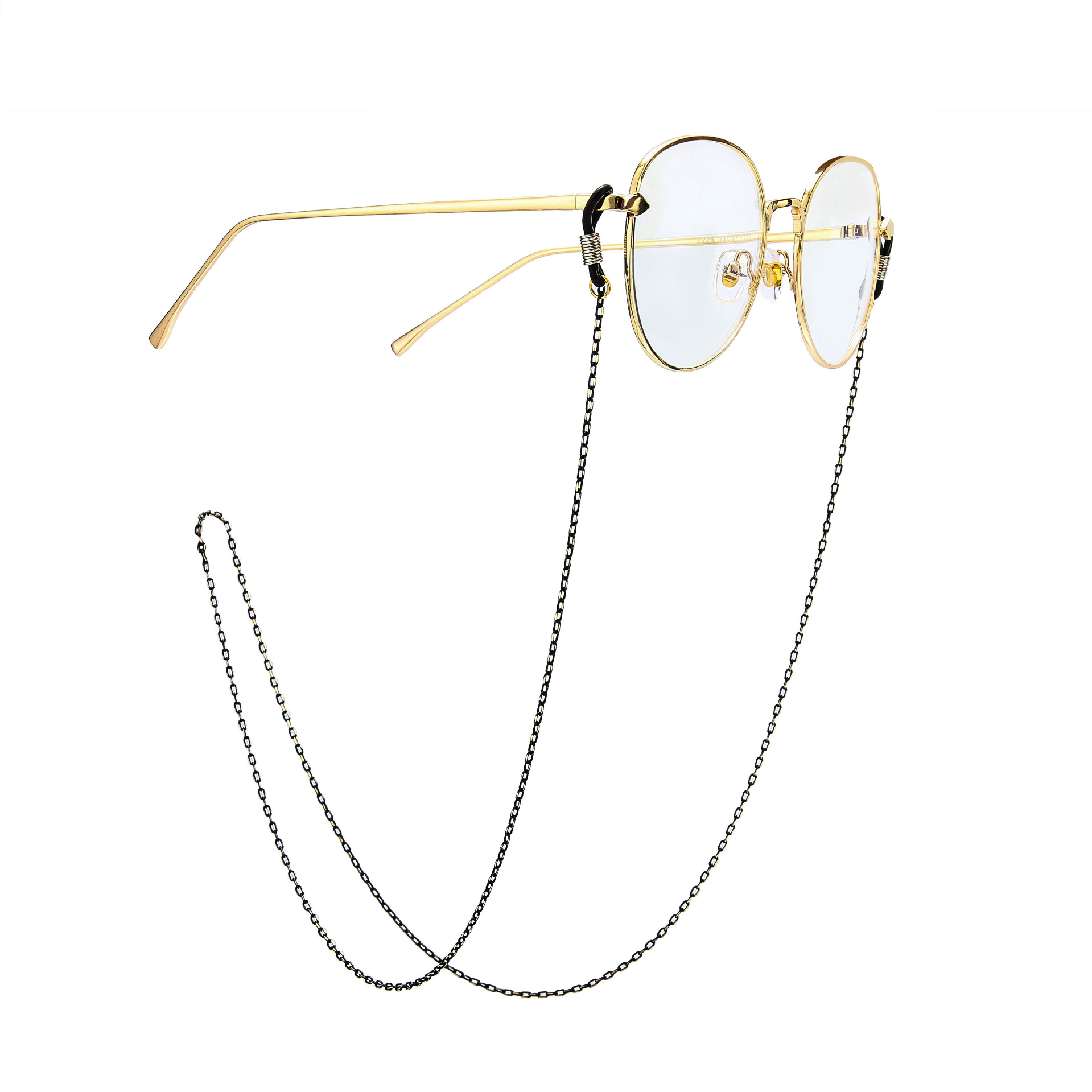 Fashion Chic Womens Gold Silver Eyeglass Chains Sunglasses Reading Beaded Glasses Chain Eyewears Cord Holder neck strap Rope in Jewelry Findings Components from Jewelry Accessories