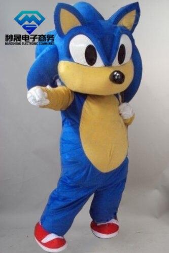 Haute qualité nouveau Sonic le Costume de mascotte hérisson Costume de mascotte sonique Cosplay