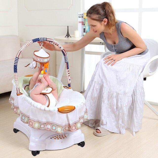 musical baby cradle electric shaking crib baby sleeper bb bed rocking chair baby hammock swings with musical baby cradle electric shaking crib baby sleeper bb bed      rh   aliexpress