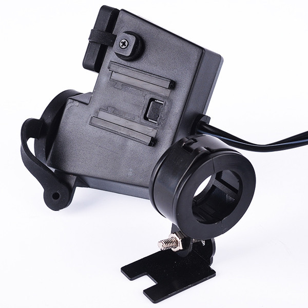 Смартфон iPhone Android планшет прикуриватель двойной USB зарядное устройство для Kawasaki Honda Suzuki Yamaha Kawasaki Harley
