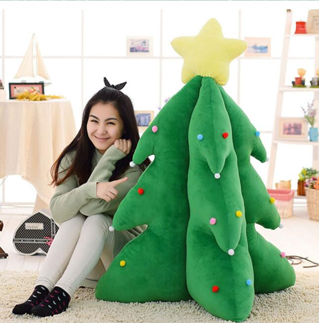 2018 160cm 63inch Christmas Trees Higher Tree Super-soft Velour Toys Plush Botany Gift Christmas Decoration Goods Shine Sing Tre