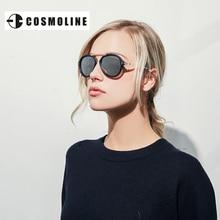 2017 del Diseñador de Italia gafas de Sol de Las Mujeres de Acero Inoxidable Aviadores Gafas de Sol con caja de Gafas De Sol Gafas Lunette de Soleil 1712