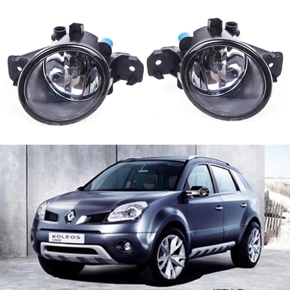 For RENAULT KOLEOS (HY_) 2008-2015 2008-2015 Car styling Fog Lamps 55W halogen Lights 1SET