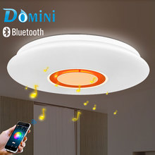 APP LED Music Ceiling Lights Lamps Dia Aluminum Acryl Remote Control
